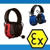 IS (Intrinsically Safe) Approved Electronic Headsets